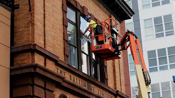 quality commercial window tinting in baltimore
