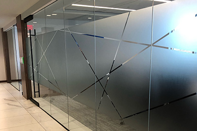 ap tinting commercial decorative window film