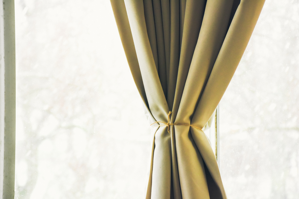 A Photo of Tie-Up Curtains