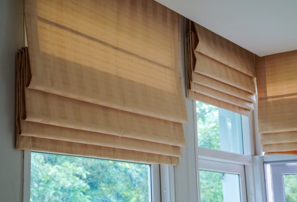 A Photo Of Roman Blinds